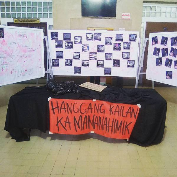 Why is the UP Diliman admin not speaking out on Carl Angelo Arnaiz' death?