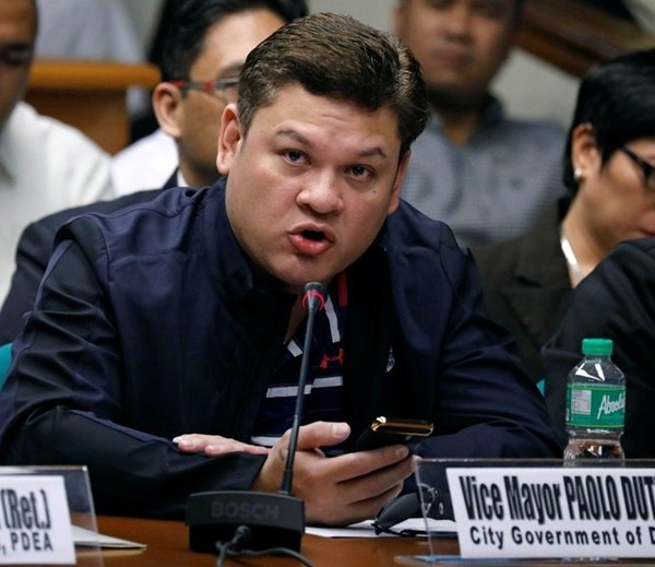 Paolo Duterte resigns as vice mayor of Davao City, but will daddy accept it?
