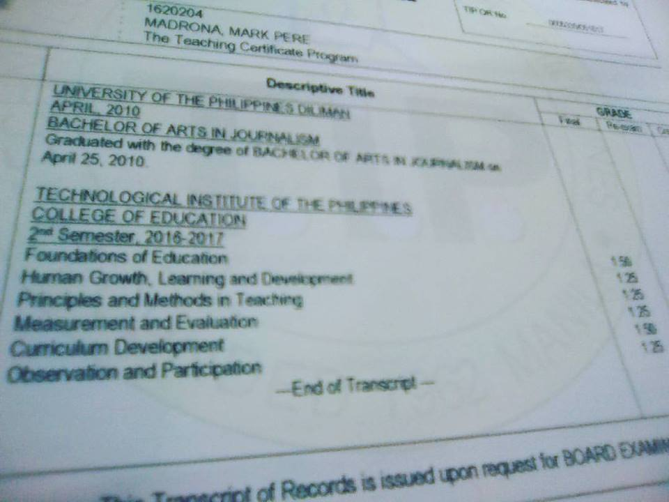 Teaching Certificate Program In The Philippines The Filipino Scribe