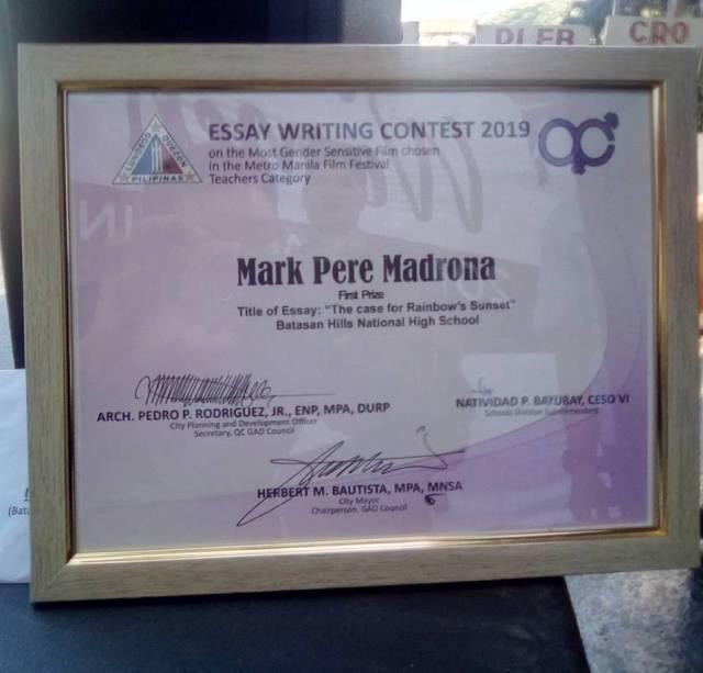 metro manila film festival essay contest