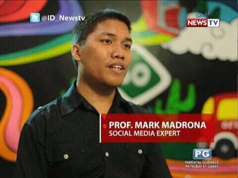 mark pere madrona social media