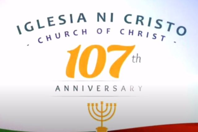July 27 2021 declared a working holiday nationwide – 107th anniversary of Iglesia ni Cristo