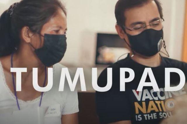#BotongPinoy2022: TV ad touts Isko Moreno's COVID-19 response in Manila