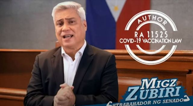Juan Miguel Zubiri - Trabahador ng Senado