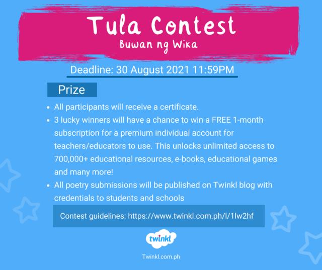 tula contest - buwan ng wika
