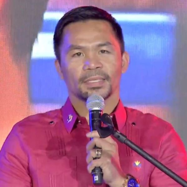 #BotongPinoy2022 – Manny Pacquiao officially joins 2022 presidential race