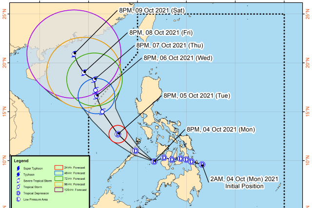 #WalangPasok – Class suspensions for October 5 2021 due to tropical depression #LanniePH