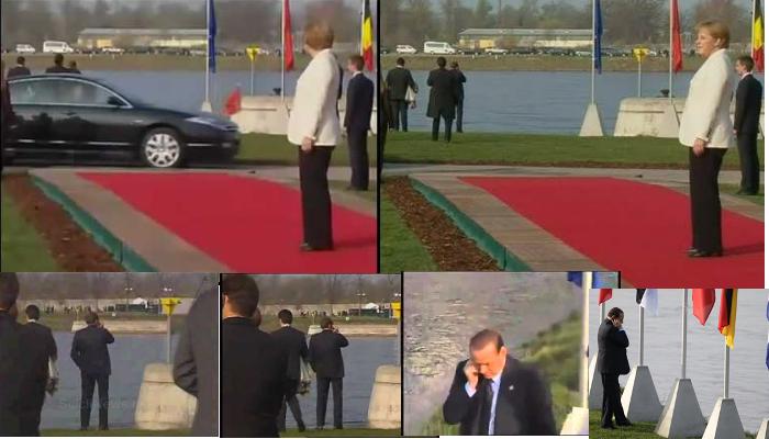 Berlusconi-Merkel telefonare