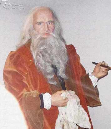capelli e barba Leonardo da Vinci-Filistrucchi