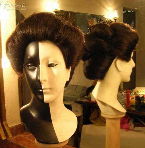 Parrucca stile Giapponese da donna art GIAP-D