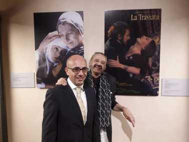 Gherardo e Gabriele alla Fondazione Zeffirelli (foto Pilar Lebole)