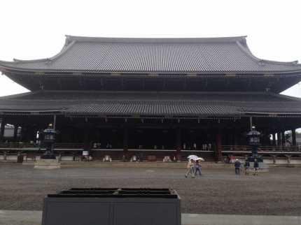 la foto ritraee Il tempio Higashi Hongannji Shouseienn Roututei