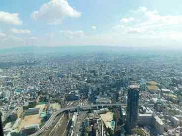 Il panorama di Osaka da Abeno Harukas