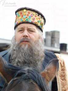 Barba e baffi stile Erode