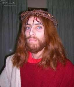 Trucco, bafi, barba parrucca da Gesù