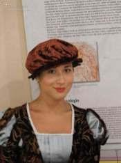 Maya Quattrini nei panni del Narratore in occasione della replica ad Anghiari 2019
