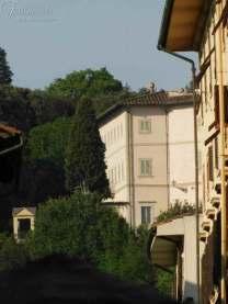 Villa Bardini vista dalla BottegaVilla Bardini vista dalla Bottega