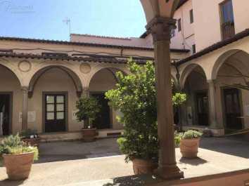 Passeggiata Botanica Leonardiana all'interno del Chiosco dell'Ospedale di Santa Maria Nuova ( (13)