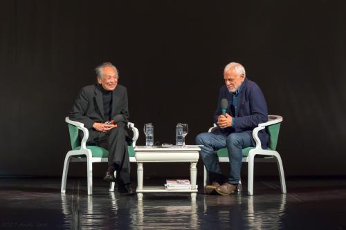 Gao Xingjian si Bogdan Ghiu by Andi Spot