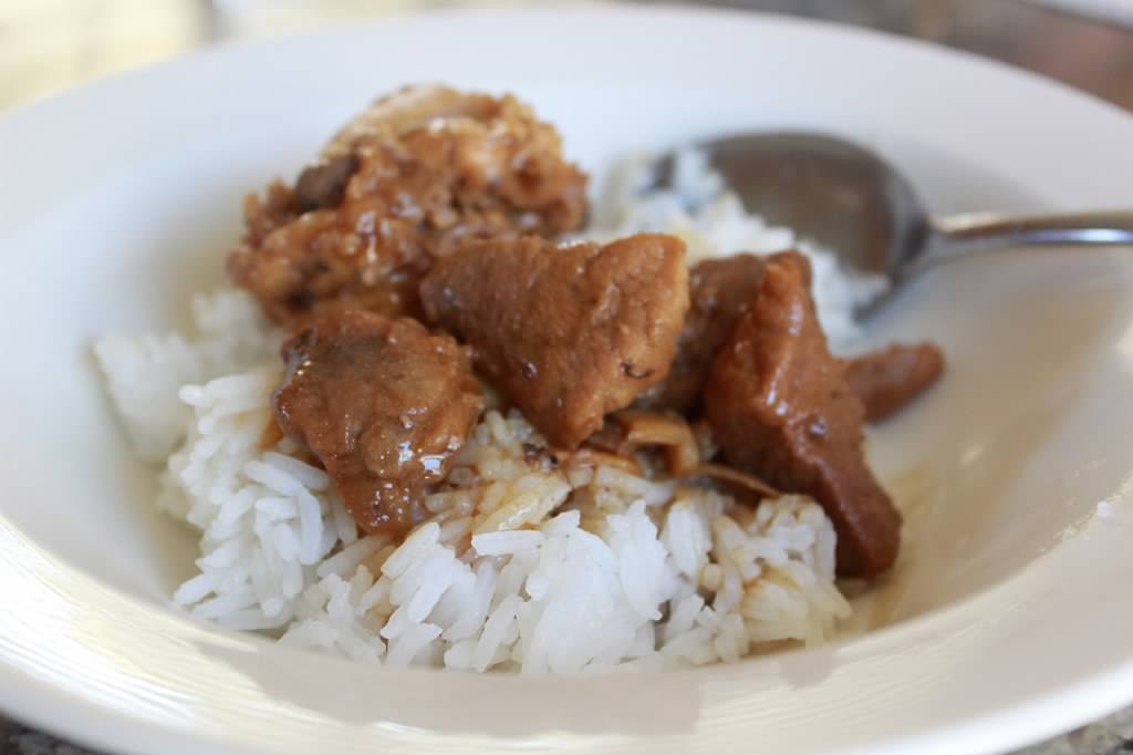 Adobo with Rice