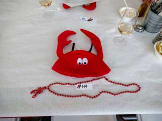V. Sattui lobsterfest hat