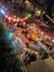 V. Sattui lobsterfest party starts