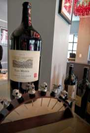 Yao Wine Signed and Stoppers