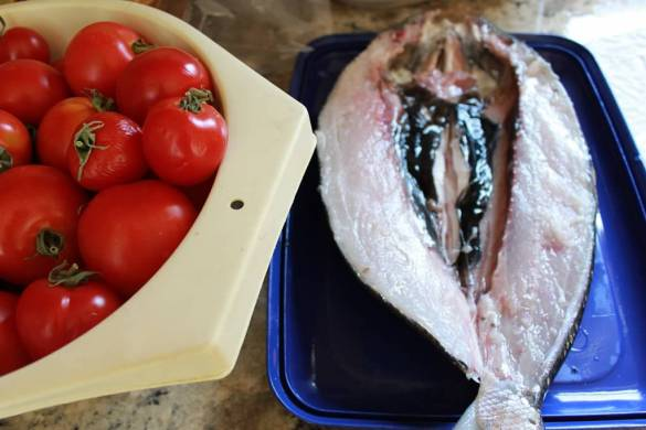 rellenong bangus white milkfish ready to cook