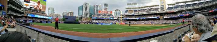 san diego with a toddler padres game pano