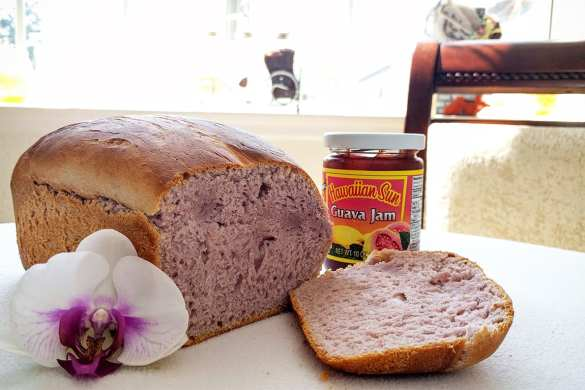 Hawaiian Purple Ube Bread