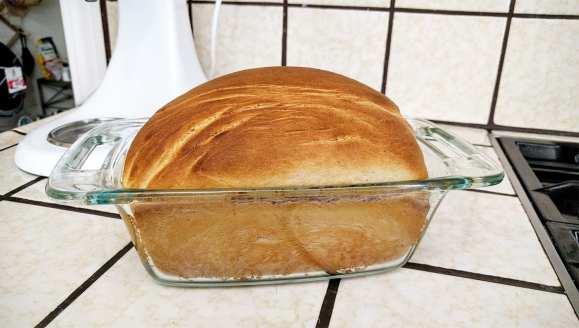 Ube Bread Baked