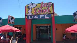 flying lad californias great america joe cool cafe
