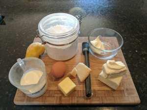 bake cheese tart ingredients