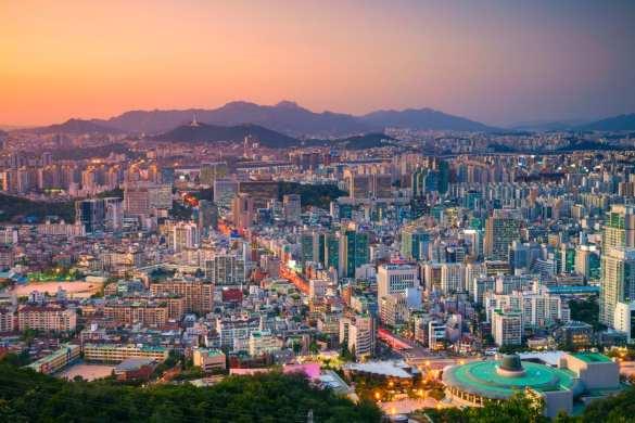 Seoul. Cityscape