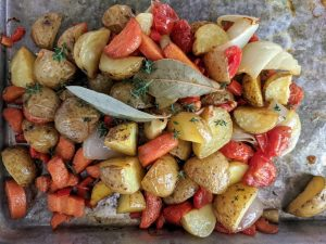 Beef Caldereta Roasted Vegetables
