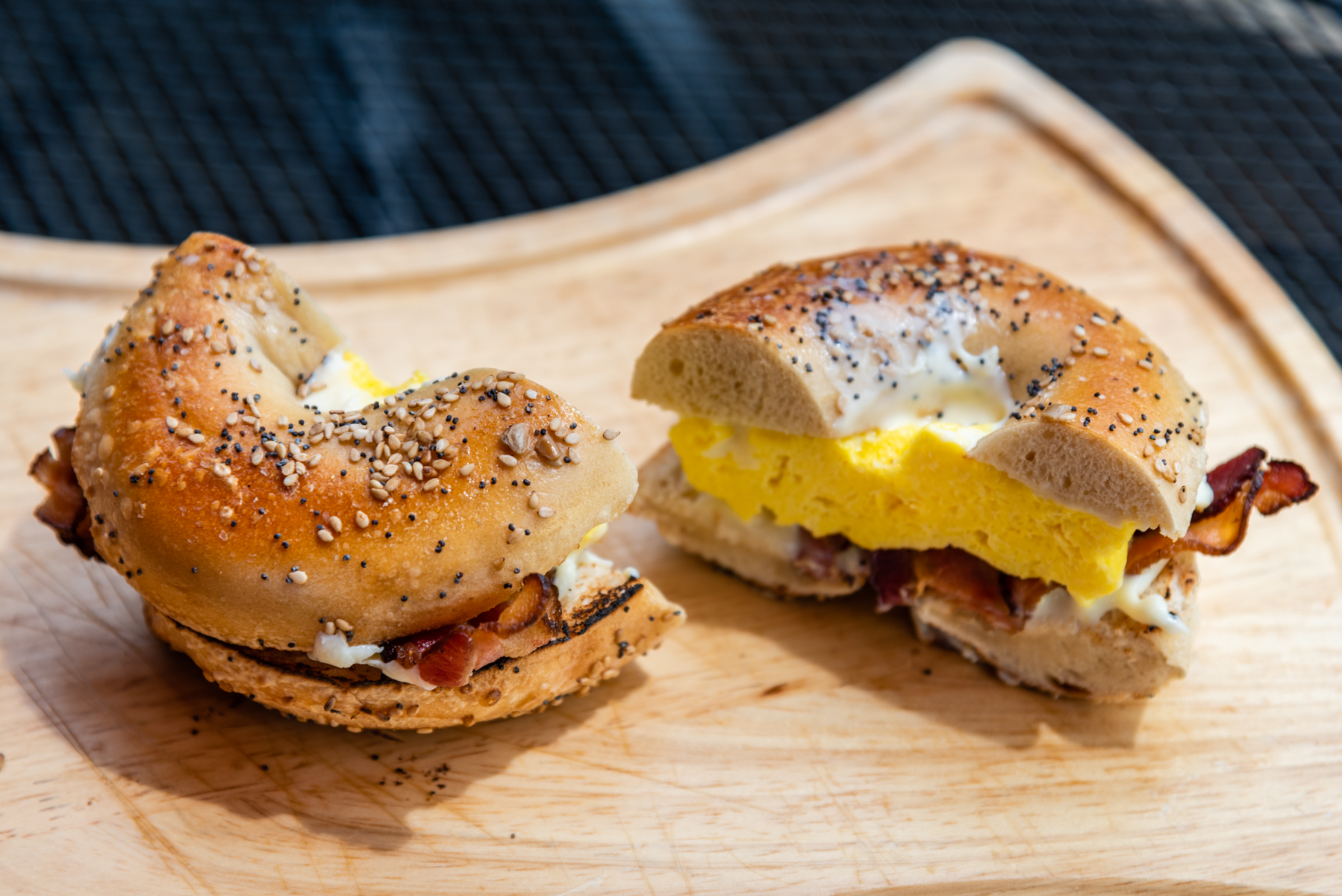Bagel Sandwich - Bacon, Egg, and Cheese