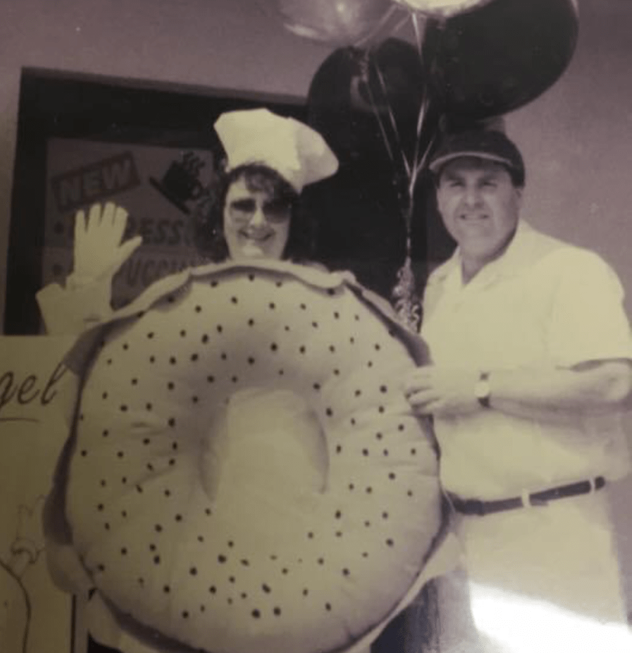 Historical Opening of Fill A Bagel with Charlie & Vicki