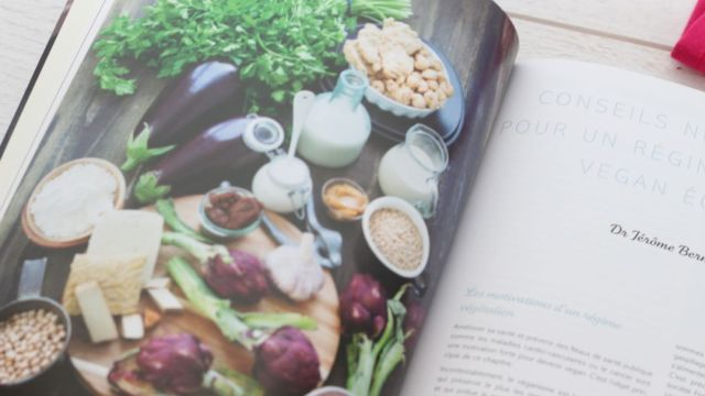 livre vegan recette healthy