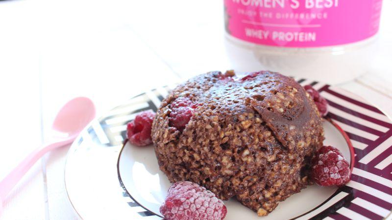 Bowlcake aux protéines en poudre (whey)