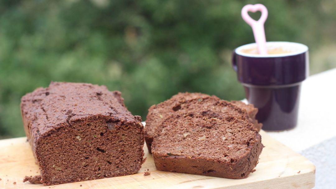 Recette gâteau chocolat et courgette