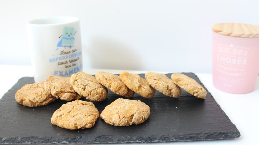 Cookies patate douce spécial automne