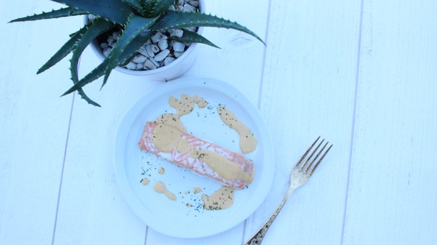 Recette saumon healthy spécial diète