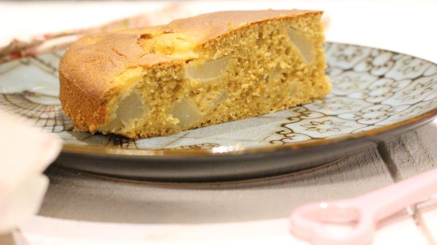 Gâteau sans gluten aux poires