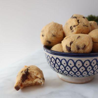 Recette cookie dough balls