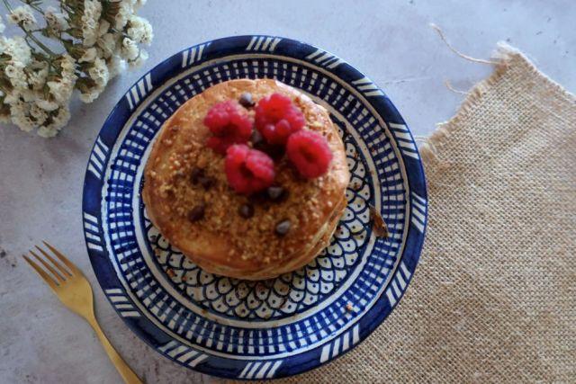 Recette pancakes à la farine de patate douce