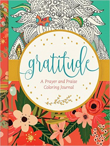 Gratitude: A Prayer and Praise Coloring Journal Book Cover