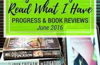 Reading What I Have Challenge - June 2016 | {The Month I Read And/Or Deleted Almost 70 Books} Click through to check out my book reviews of the 8 reading challenge titles I read this month, plus find out how much progress I made on eliminating digital clutter. | www.fillingthejars.com
