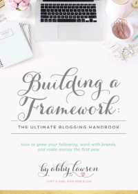Building a Framework - Blogging Course presented by Abby & Donnie Lawson