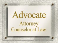 advocate sign