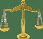balance brass court justice